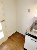 その他:幅のある冷蔵庫スペースです。