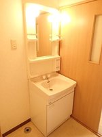 洗面室:独立洗面化粧台