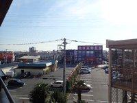 眺望:高倉町の繁華街を一望できます。