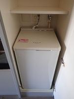 :室内洗濯機置場