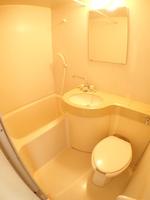 浴室:三点ユニットバス