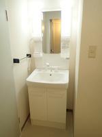 洗面室:シャワー付洗面化粧台