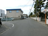 その他:現地含む東側前面道路、幅員6m