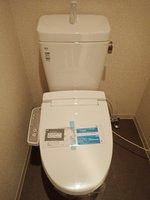 トイレ:シャワートイレ(新品)