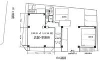 間取図/区画図:1階136.81㎡(約41.38坪)