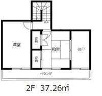間取図/区画図:2階間取図