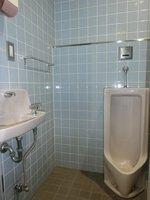その他:男性用トイレも綺麗にお使いです