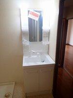 洗面室:独立洗面化粧台(新品)