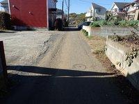 :現地含む前面道路