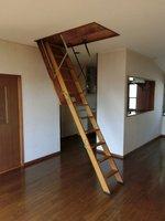 収納:収納に便利、屋根裏収納