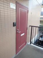 玄関:玄関外