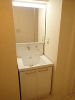 洗面室:独立洗面化粧台(新規交換)