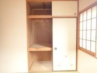 収納:2階和室収納