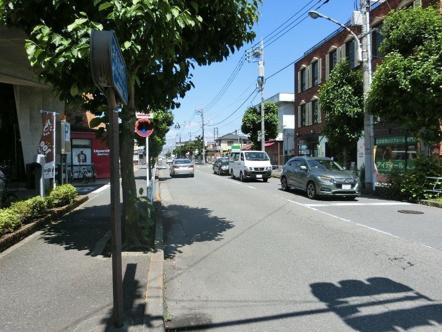 その他現地写真:現地含む、南側前面道路