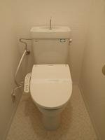 トイレ:シャワー付きトイレ(新規設置)